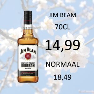 SLIDER JIM BEAM